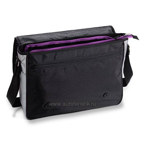 Сумка-органайзер Mazda ZoomZoom Shoulder Bag Black 7000ME0136BL