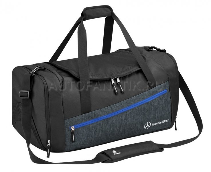 09387e4faa63 Спортивная сумка Mercedes-Benz Sports Bag Grey-Black, by Deuter B66958081