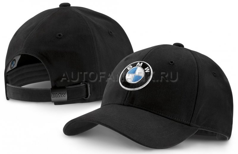 Бейсболка BMW Logo Cap, Deep Black 80162411103