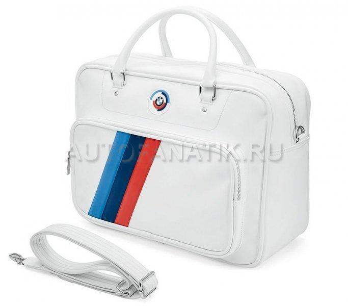 41a2e1a3c058 Спортивная сумка BMW Motorsport Heritage Sports Bag, White 80222445947