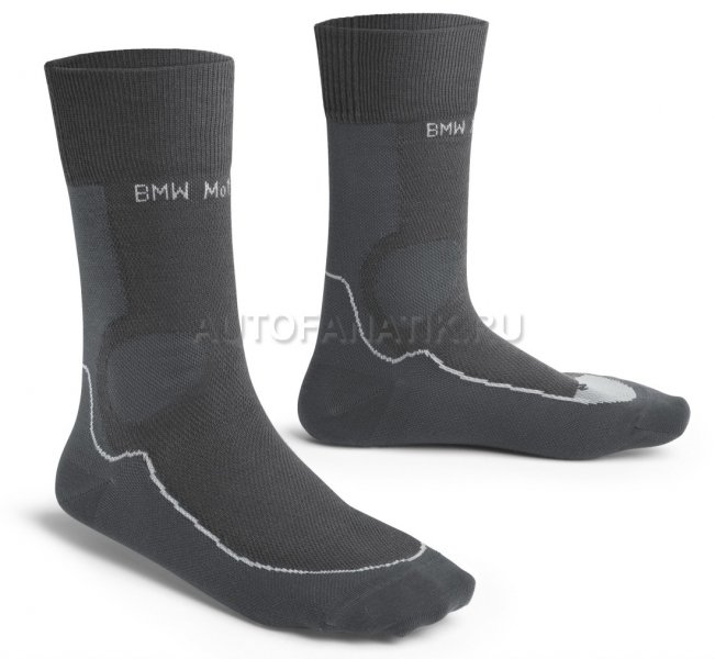 Носки BMW Motorrad Summer Functional Socks, Unisex, Anthracite/Black 76248395461