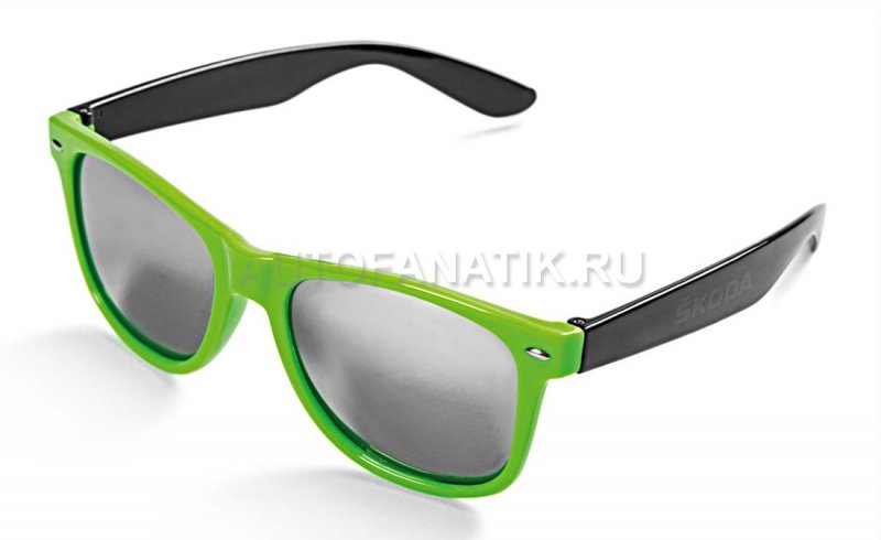Солнцезащитные очки Skoda Sunglasses Green-Black, UV 400 000087900ABFBD