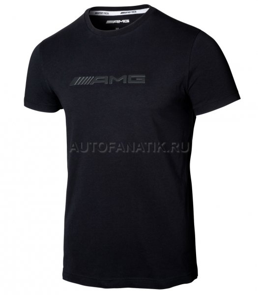Мужская футболка Mercedes-AMG Men's T-shirt, Black B66958733
