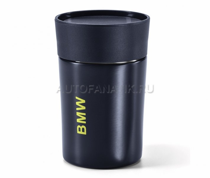 Термокружка BMW Active Thermal Mug, Blue Nights / Wild Lime 80282461018