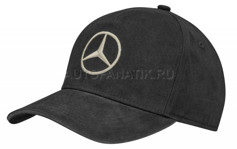 Женская бейсболка Mercedes Baseball Cap, Women's Prime Logo, Black B66954533